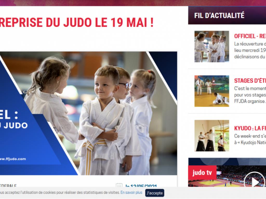Image de l'actu 'Reprises du Judo- 19 mai'
