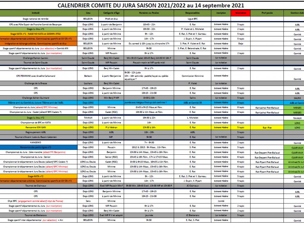 Image de l'actu 'Calendrier du Comité du Jura saison 2021-2022'